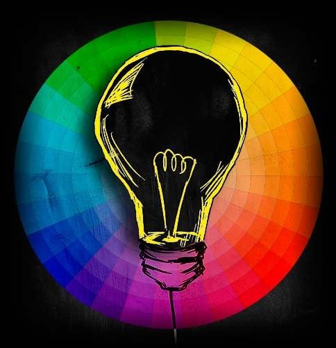 diseño de logo a color